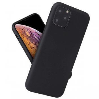 Apple iPhone 11 Pro Soft Matte Tpu Case - Black | Telefona Maciņš, Matēts - Melns