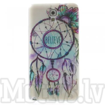 Samsung Galaxy Note 3 Neo N750 N7505 N7502 Clear Slim TPU Gel Case Bumper Cover, dream catcher - aksesuārs vāks bamperis