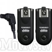 Yongnuo RF-603C3 II Wireless Flash and Camera Trigger Kit for Canon