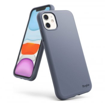 Apple iPhone 11 Ringke Air S Ultra-ThinSilicon Cover Case, Gray | Чехол для телефона