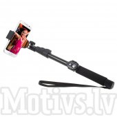 Long Selfie Stick LR-188 with Bluetooth Remote Monopod Pole for Gopro, Phones, Cameras - selfi nūja, kāts, monopods