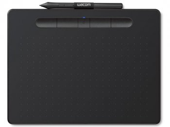 Grafiskā planšete Wacom Intuos M (Medium) ar Bluetooth - Graphics Tablet, Black