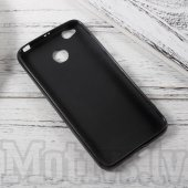 Xiaomi Redmi 4X Frosted TPU Gel Case Bumper Cover, black - vāks bamperis