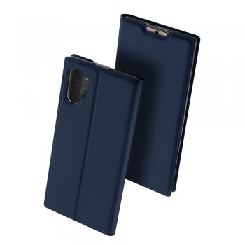 Samsung Galaxy Note 10 Plus (SM-N975F) DUX DUCIS PU Leather Case – Blue