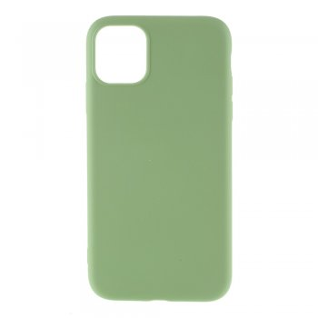 Apple iPhone 11 Pro Liquid Silicone TPU Case Cover Shell, green - silikona vāciņš maciņš