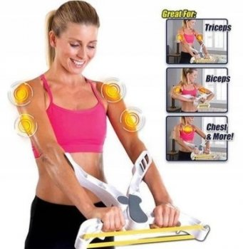 Total Arm Workout System Wonder Arms with Resistance Bands 3 pcs.
