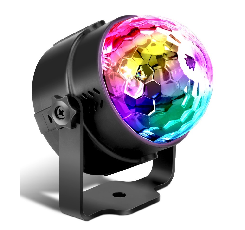 LED Диско Шар | RGB Magic Crystal Disco Ball Party Lightning