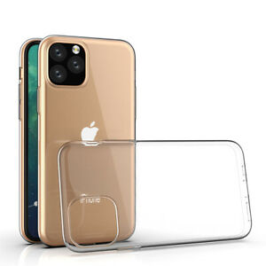 Apple iPhone 11 Pro Ultraslim TPU Case, Transparent | Caurspīdīgs silikona vāciņš