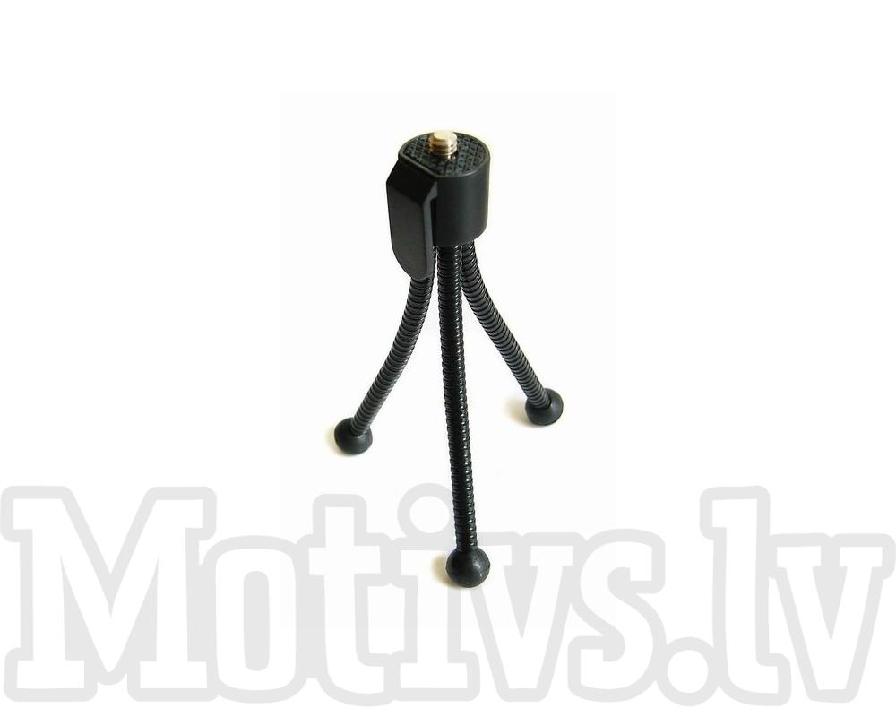 Elastic Mini Table Tripod for compact cameras, gopro, phones - mini galda statīvs (ACSS-066)  3.90