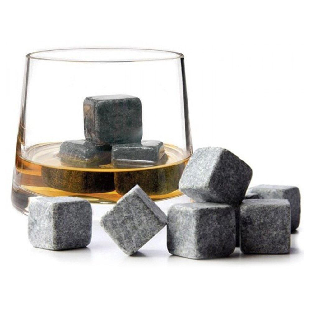 Viskija Akmeņi, Ledus Kubi 9gb | Whiskey Stones, Thermal Whisky Ice Cubes