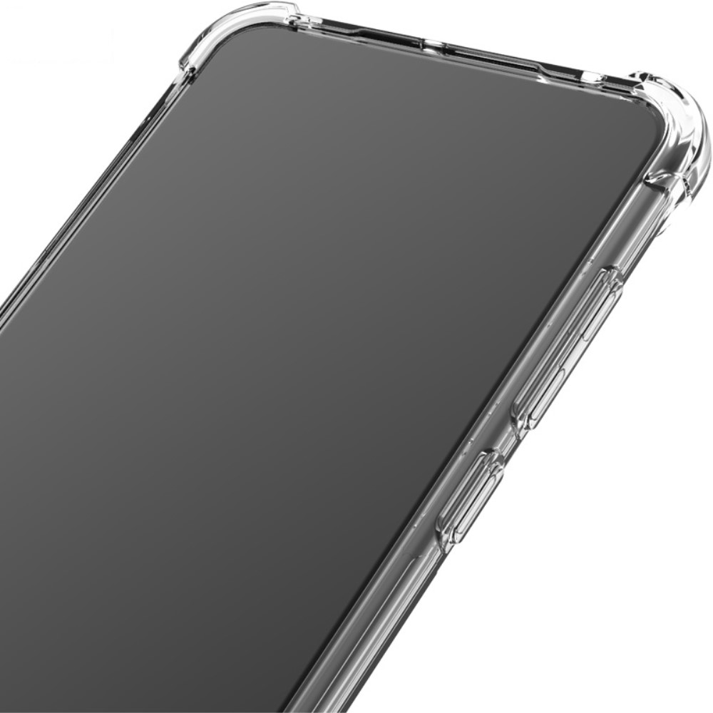 Samsung Galaxy Note 20 Ultra IMAK Silky Anti-drop TPU Soft Cover + Screen Protector Film, Transparent | Telefona Maciņš Vāciņš + Aizsargplēve (1)