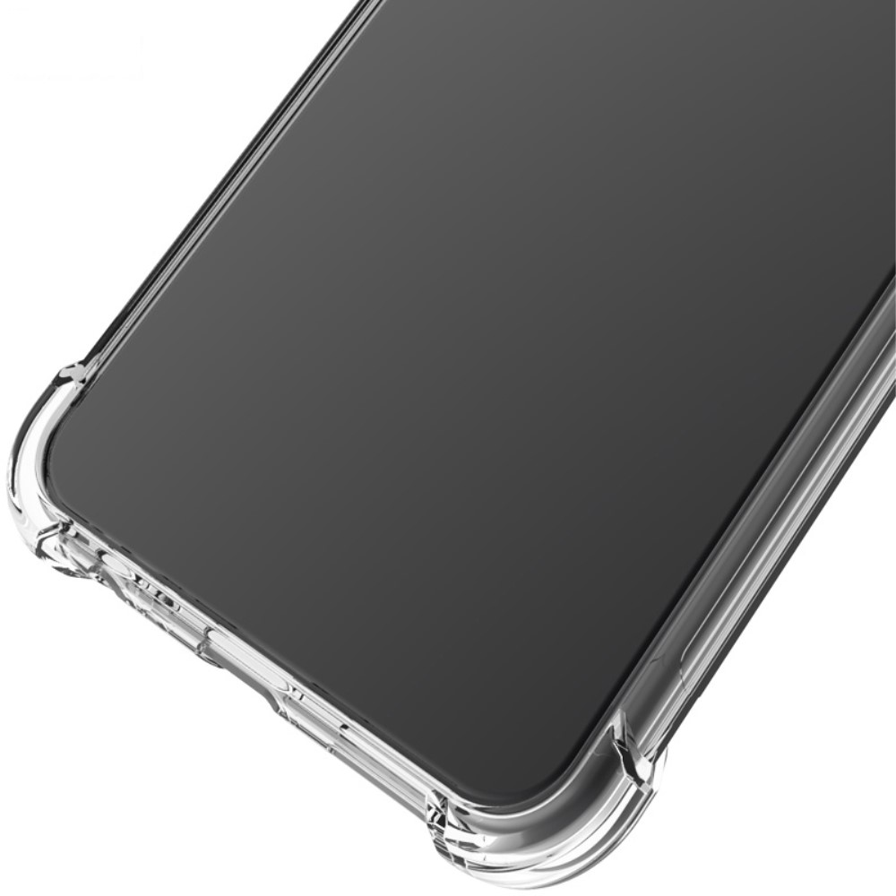 Samsung Galaxy Note 20 Ultra IMAK Silky Anti-drop TPU Soft Cover + Screen Protector Film, Transparent | Telefona Maciņš Vāciņš + Aizsargplēve (2)
