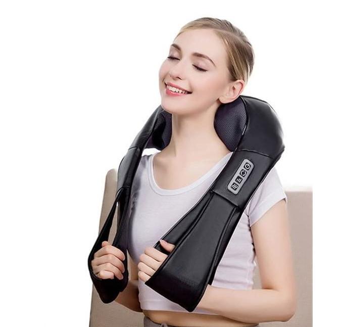 Массажер shiatsu для спины массажер для водителя отзывы